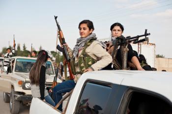 mujeres kurdas