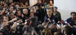 El día de la elección, Macri evita dar declaraciones ante los medios sobre la desaparición forzada de Santiago Maldonado