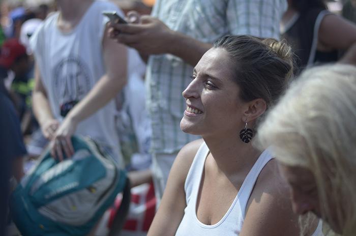Manuela Castañeira participó del Encuentro de Trabajadores en el Hospital Posadas